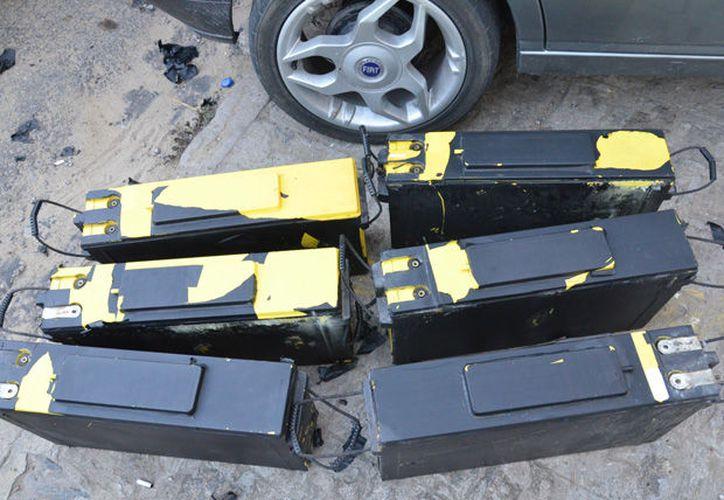 Tras ronda de vigilancia en el fraccionamiento Las Américas detectaron el robo de baterías de torre de telefonía. (SIPSE)