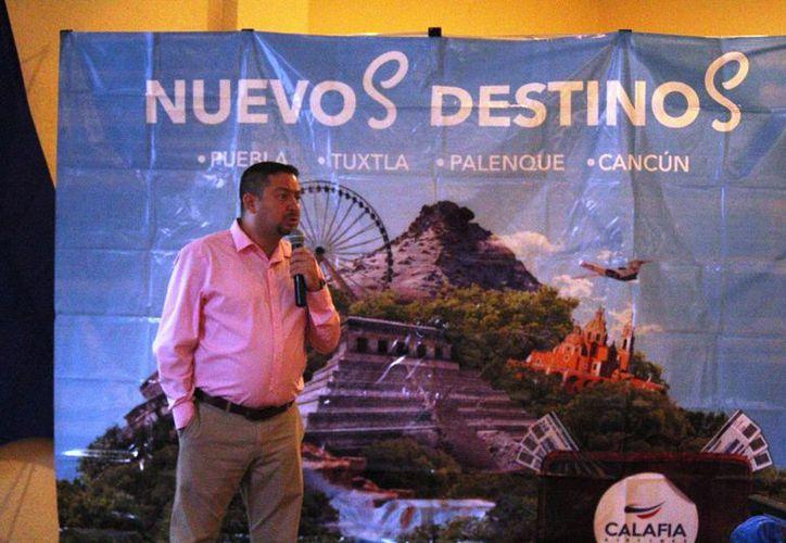 Mencionaron durante la presentación,  que Palenque es un complemento para el turismo de la Riviera Maya. (Octavio Martínez/SIPSE)