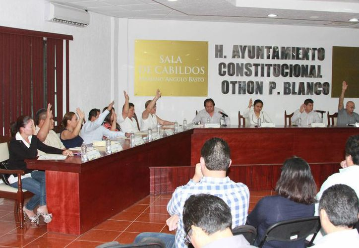 Los integrantes del Cabildo aprobaron el presupuesto recientemente. (Benjamín Pat/SIPSE)