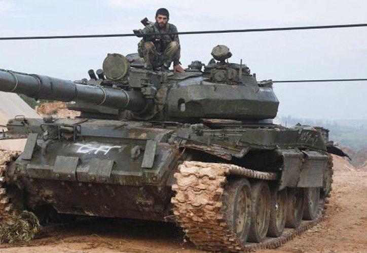 El ejército Sirio expulsó a terroristas de la localidad Halfaya. (Actualidad.rt.com)