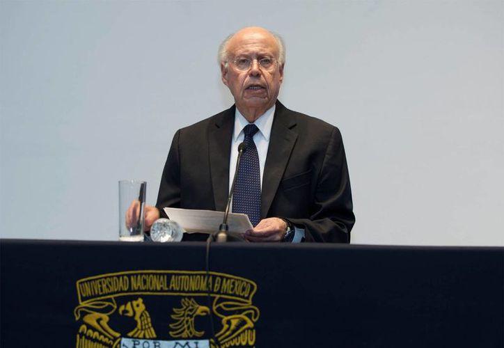 El rector de la UNAM dijo que espera que el responsable de los hechos violentos sea  castigado. (dgcs.unam.mx)