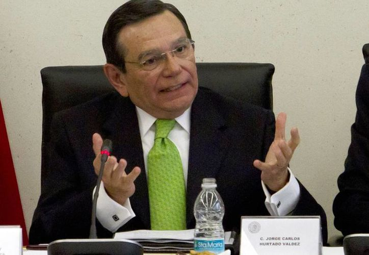 La Cámara de Senadores someterá a votación del pleno el próximo 30 de abril el nombramiento de Jorge Carlos Hurtado. (Notimex)