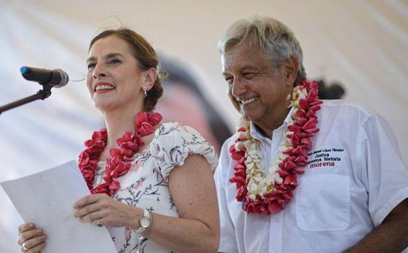 Beatriz Gutiérrez Müller, propuso poner fin a la idea de la primera dama. (Excélsior)