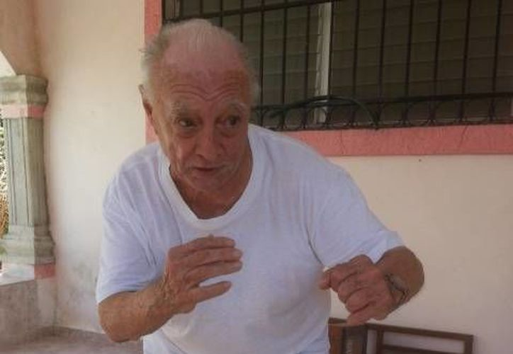 Jesús Rivero cumple este tres de octubre 87 años de edad y fue elegido hace unos meses integrante del Salón de la  Fama del Deporte Yucateco. (Milenio Novedades)