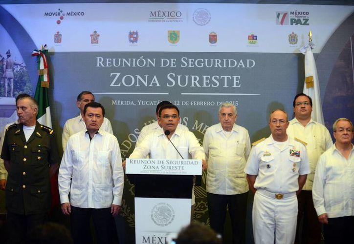 Rolando Zapata dijo que las reuniones afianzaron su coordinación. (Milenio Novedades)