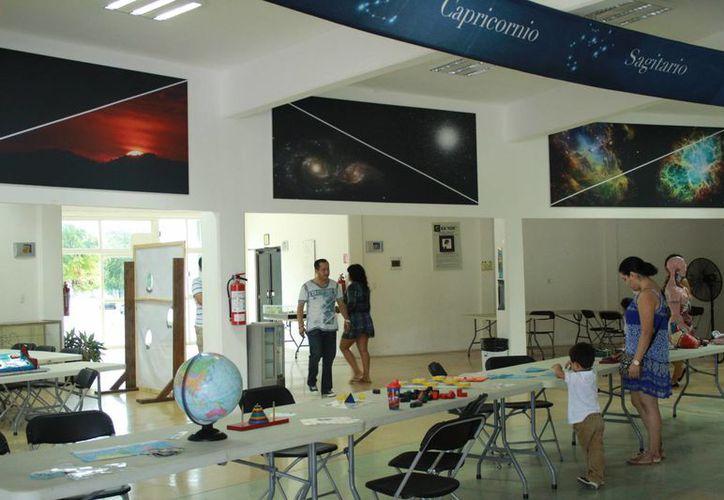 Se realizarán diversas actividades gratuitas en el planetario. (Redacción/SIPSE)