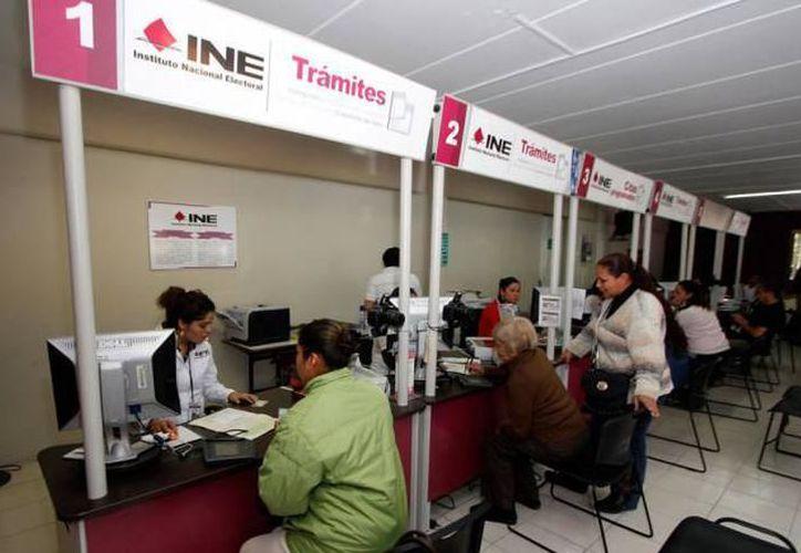 El Instituto Nacional Electoral (INE) tiene una lista nominal de más de un millón 400 mil personas. (SIPSE)