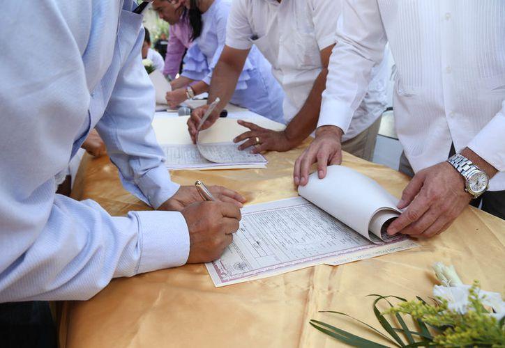 """Este es el segundo evento de Bodas Colectivas """"Uniendo Amores"""" que se realiza en el CRM. (Foto: Cortesía)"""