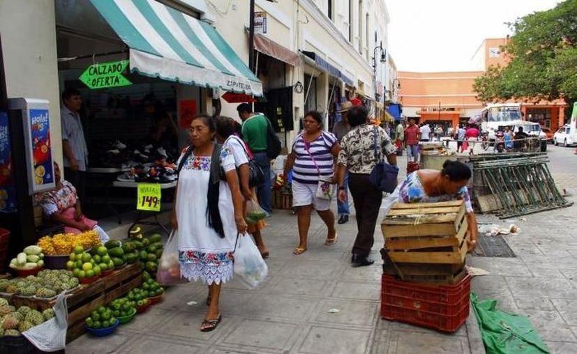 En los mercados de Mérida se entregarán bolsas ecológicas para evitar el uso de las hechas a base de plástico. (Archivo/Sipse)