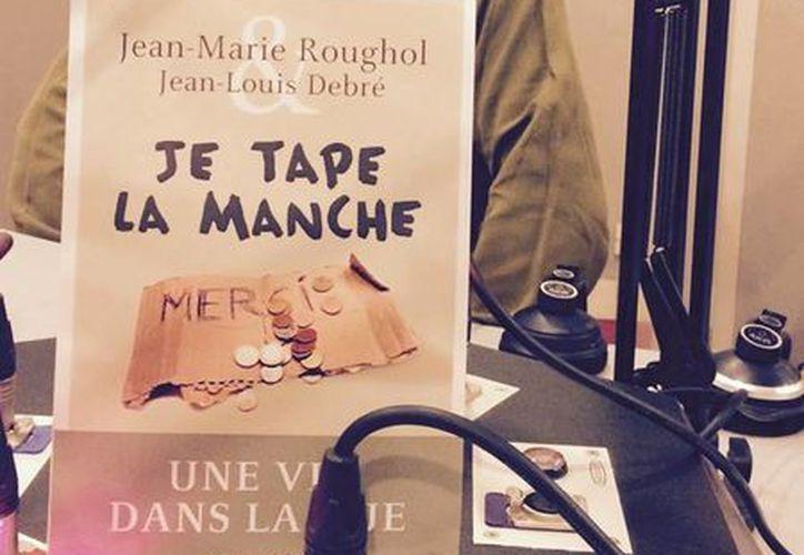 Jean-Marie Roughol, autor del libro 'Pido limosna: una vida en la calle', ha sido invitado a programas de radio y televisión para presentar su libro. (facebook.com/jeanmarie.roughol)