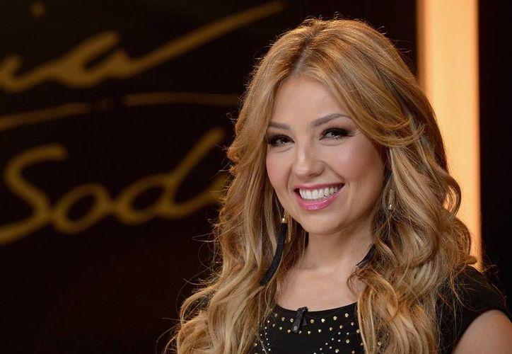 Thalía fue duramente criticada en las redes sociales, el día de ayer, tras las publicaciones que realizó en 2014.(Notimex)