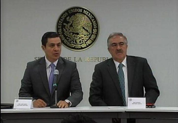 José María Martínez dijo que sí observaron participación de gobiernos locales, como el de Veracruz. (Milenio)