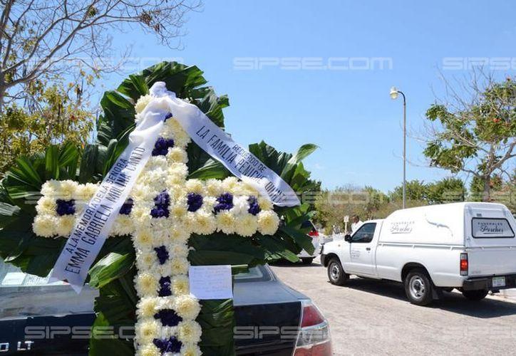 Un yucateco está implicado en el asesinato de Emma Gabriela Molina, que fue despedida ayer miércoles. (SIPSE)