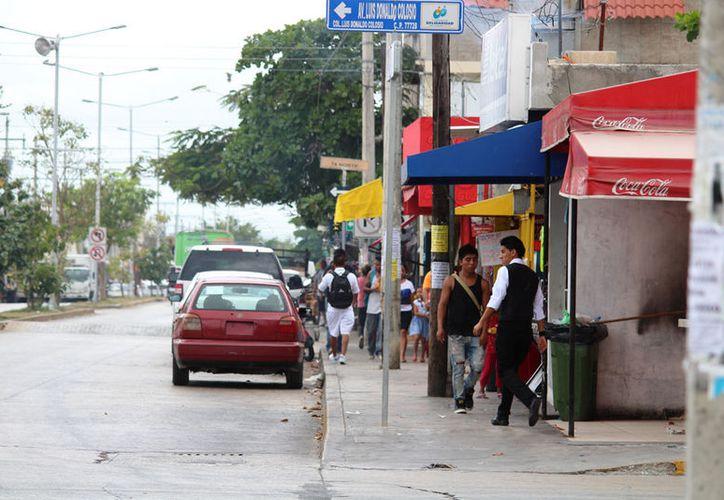 La mayoría de los comerciantes afiliados a la Canaco-Servytur no tuvieron problemas. (Octavio Martínez/SIPSE)