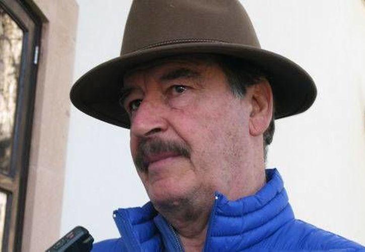 El ex presidente Vicente Fox creó un fondo para apoyar a quienes decidan invertir en la industria petrolera de México. (milenio.com)