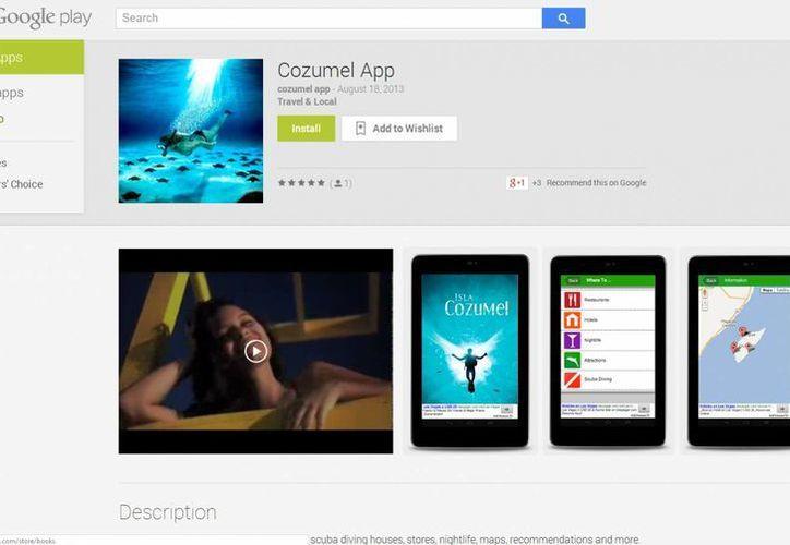 En el portal de la empresa Google se continúa promoviendo el programa para teléfonos inteligentes. (Redacción/SIPSE)