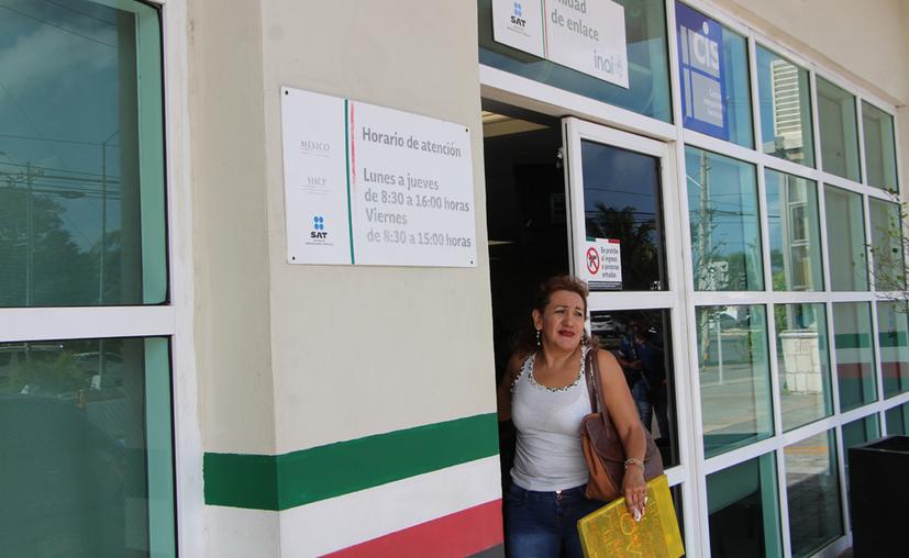 Los contadores brindarán asesorías sobre todo a las personas asalariadas y físicas. (Paola Chiomante/SIPSE)