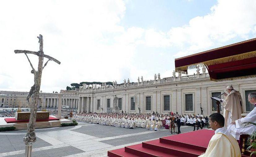 El Papa Francisco durante la misa del Jubileo de los sacerdotes, el miércoles 3 de junio de 2016, en El Vaticano. (AP)