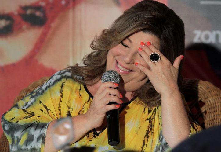 Margarita asegura que sus próximas producciones tendrán un toque festivo, positivo y carnavalesco. (Notimex)