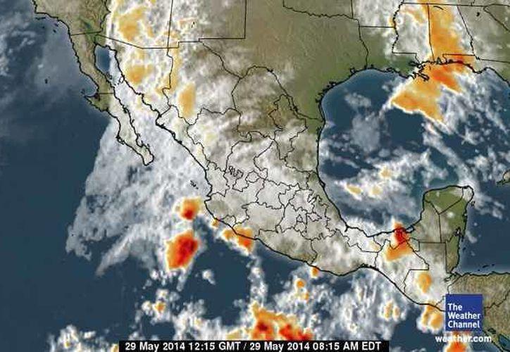 En la Península de Yucatán mantendrá cielo de despejado a medio nublado. (espanol.weather.com)