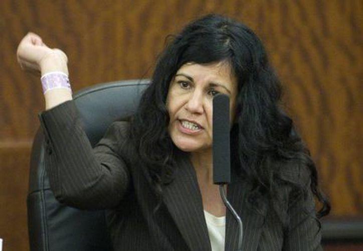 Ana Trujillo, de 45 años, tiene antecedentes de violencia al ingerir bebidas alcohólicas.(AP)