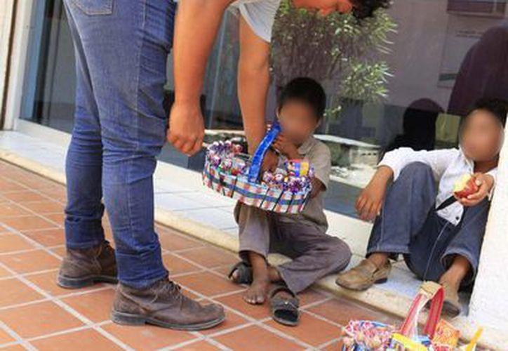 La explotación infantil es la utilización de menores de edad por parte de adultos para fines económicos o de otra índole. (Harold Alcocer/SIPSE)