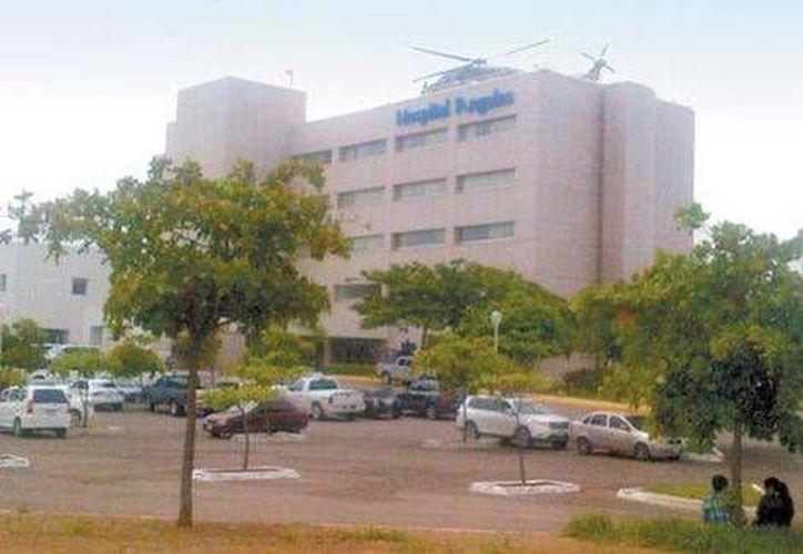 En Culiacán, la Marina resguardó el hospital Ángeles. (Milenio)
