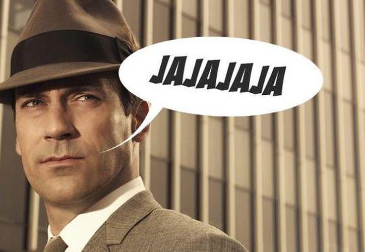 La risa escrita no siempre corresponde con la expresión facial que se adopta. (Contexto/Internet)