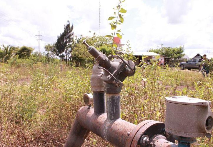 Al día se reporta un robo de tubería y cableado de cobre. (Edgardo Rodríguez/SIPSE)