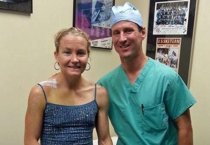 Mary Beth Ellis se sometió a cirugía especializada. (foto: http://triathlon.competitor.com)