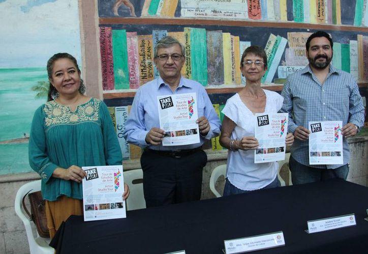 El 18 de febrero artistas yucatecos y avecindados en esta entidad mostrarán al público sus obras en los sitios donde las crearon, en lo que es un proyecto diferente al de las exposiciones en galerías. (Jorge Acosta/SIPSE)