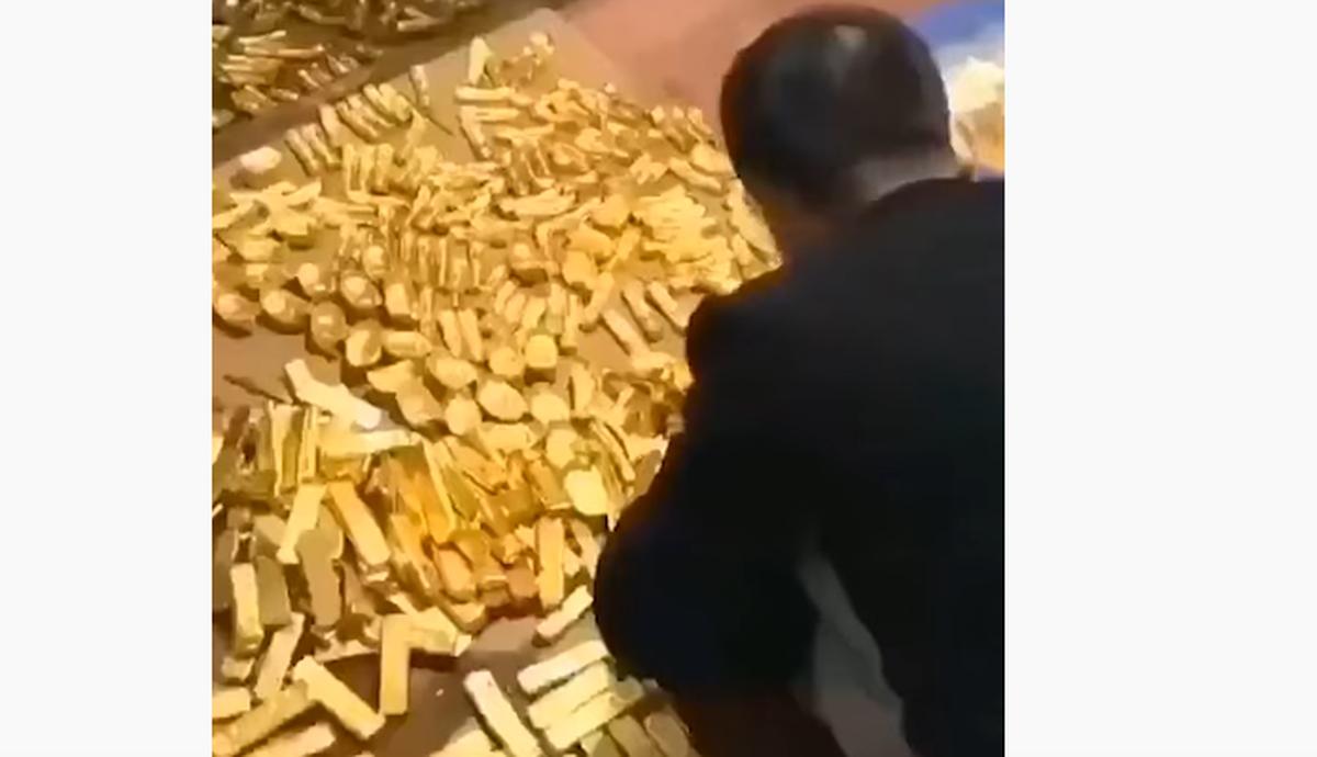 Resultado de imagen para lingotes de oro alcalde de china
