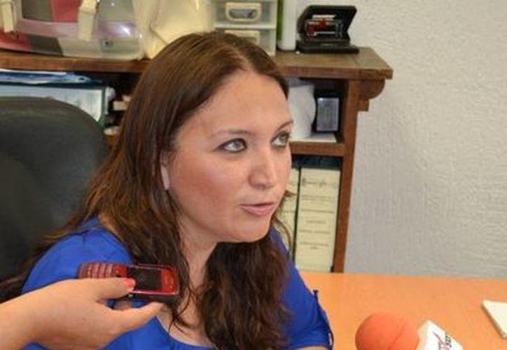 Blanca Guadalupe Castro Arceo titular de la Mesa Especializa de Violencia contra la Mujer. (Redacción/SIPSE)