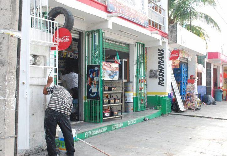En enero de este año se cometieron 123 robos a comercios. (Tomás Álvarez/SIPSE)
