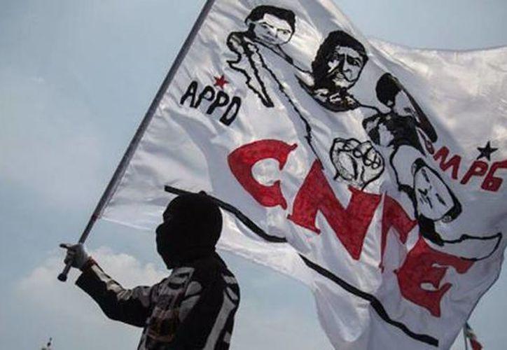 La CNTE ha realizado marchas, paros y cierre de carreteras con la intención de que el gobierno retire la reforma educativa. (twitter.com/Negocios360Mx)