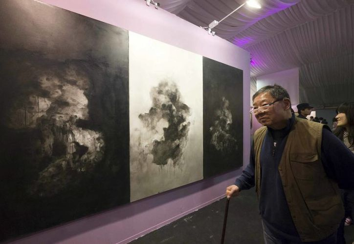 Vista de una de las salas de la versión 2012 de Arte Beijing. (EFE/Archivo)