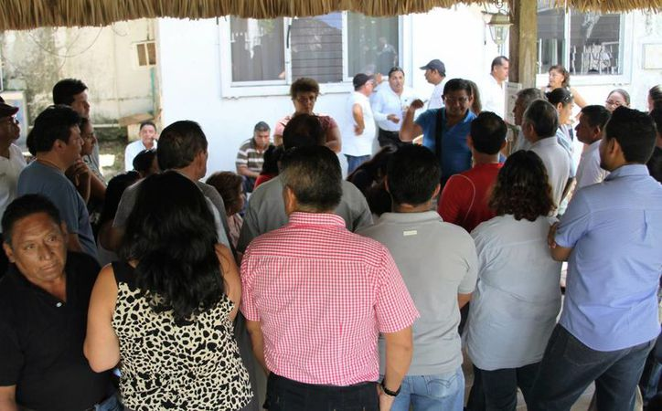 Empleados de CAPA amenazaron con hacer un paro si despedían a empleados de base; al final se descartaron los despidos.  (Carlos Horta/SIPSE)