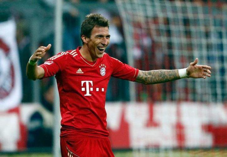 Mario Mandzukic, del Bayern Munich, es quizás la figura más representativa de la selección actual de Croacia. (www.listal.com/Archivo)