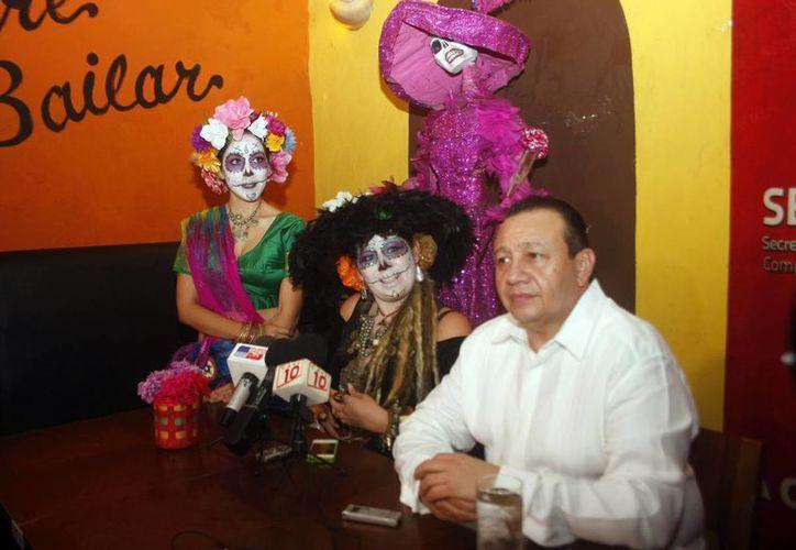 El II Festival Artístico y Cultural Noche de Catrinas se llevará a cabo en varios escenarios de Mérida. (Milenio Novedades)