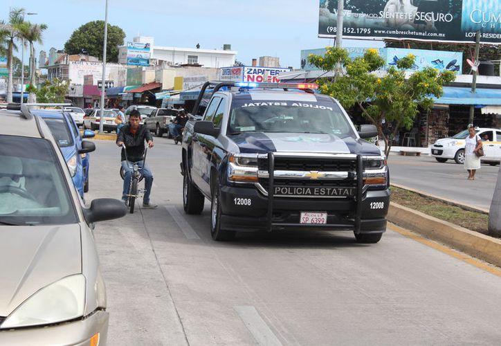 Los robos a casa y lesiones prenden focos rojos; homicidios y robo a vehículos disminuyen. (Joel Zamora/SIPSE)