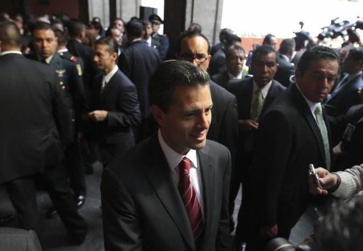 Peña Nieto aparece en la lista de la Revista Líderes junto con otros políticos, líderes de opinión, de ciencia y empresariales. (Archivo Notimex)