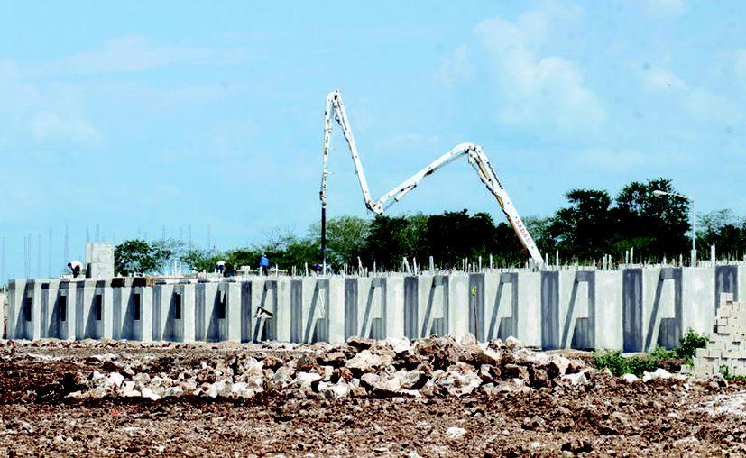 """El sector constructor tiene un """"boom"""" en Yucatán. (José Acosta/Novedades Yucatán)"""