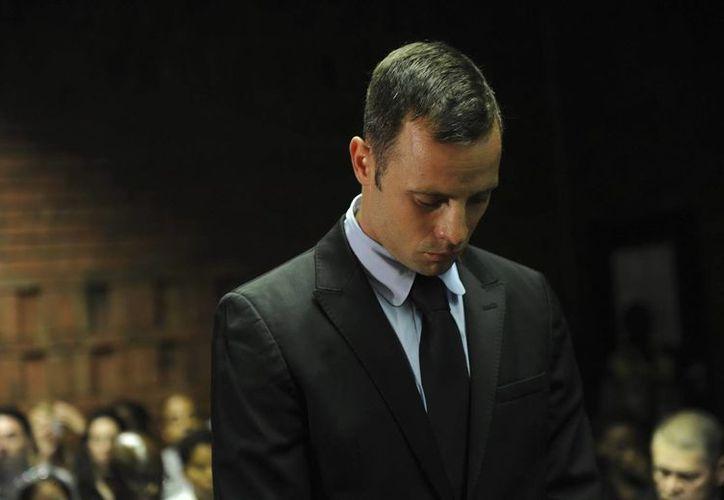 El juicio del atleta Oscar Pistorius contunúa. (EFE)