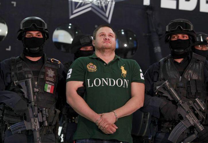 Édgar Valdez Villarreal fue capturado en 2010, durante el sexenio de Felipe Calderón Hinojosa. (Archivo/AP)