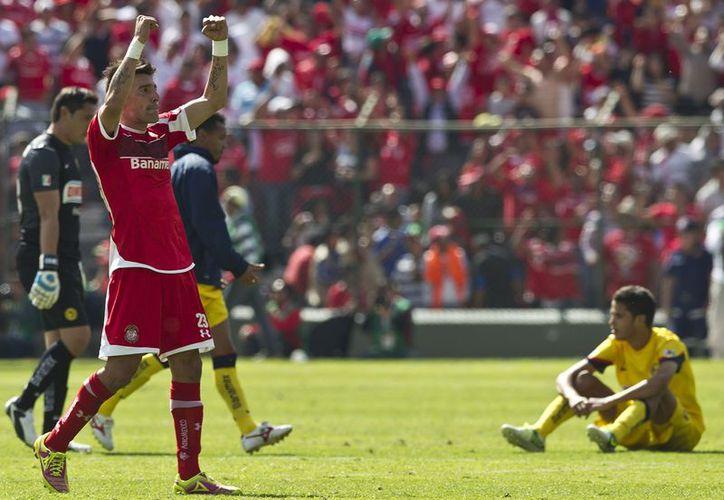Al América no le alcanzó el resultado para pasar a la final de Apertura 2012. (Agencias)