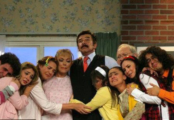 Una Familia de Diez es la popular serie que era televisada. (Foto/Internet)