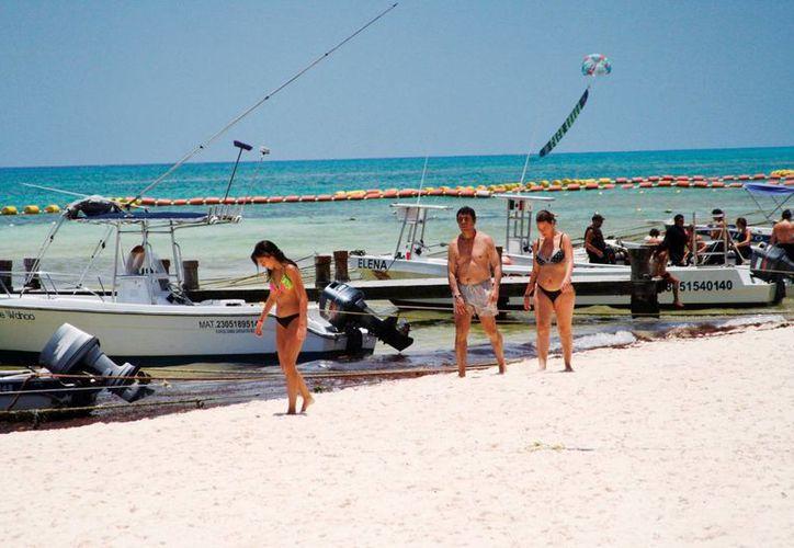 Los prestadores de servicios turísticos ya comenzaron a reportar ganancias propias de la temporada alta.  (Octavio Martínez/SIPSE)