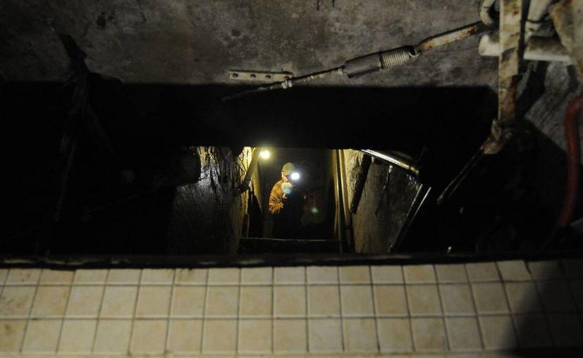 El túnel fue detectado en una inspección de rutina. (Imagen de archivo/Notimex)