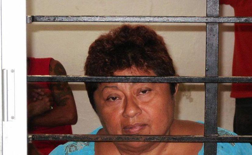 La 'bruja' Alicia Guadalupe Tzab Noh tendrá que pagar más de 8 mil pesos de fianza para dejar el penal. (Francisco Puerto/SIPSE)