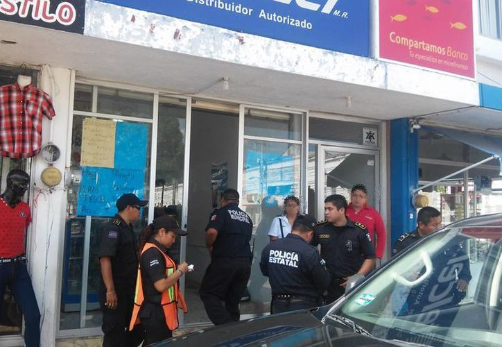Los ladrones se llevaron todo el efectivo que tenía la caja registradora de un establecimiento de Motul. (SIPSE)